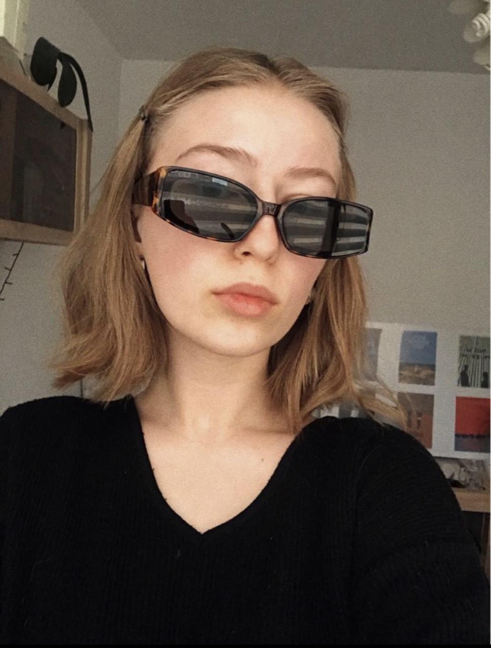 Хипстерские квадратные очки 24401tezOh