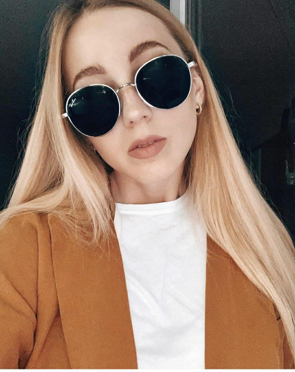 Круглые солнцезащитные очки Ray Ban 24402tezOh