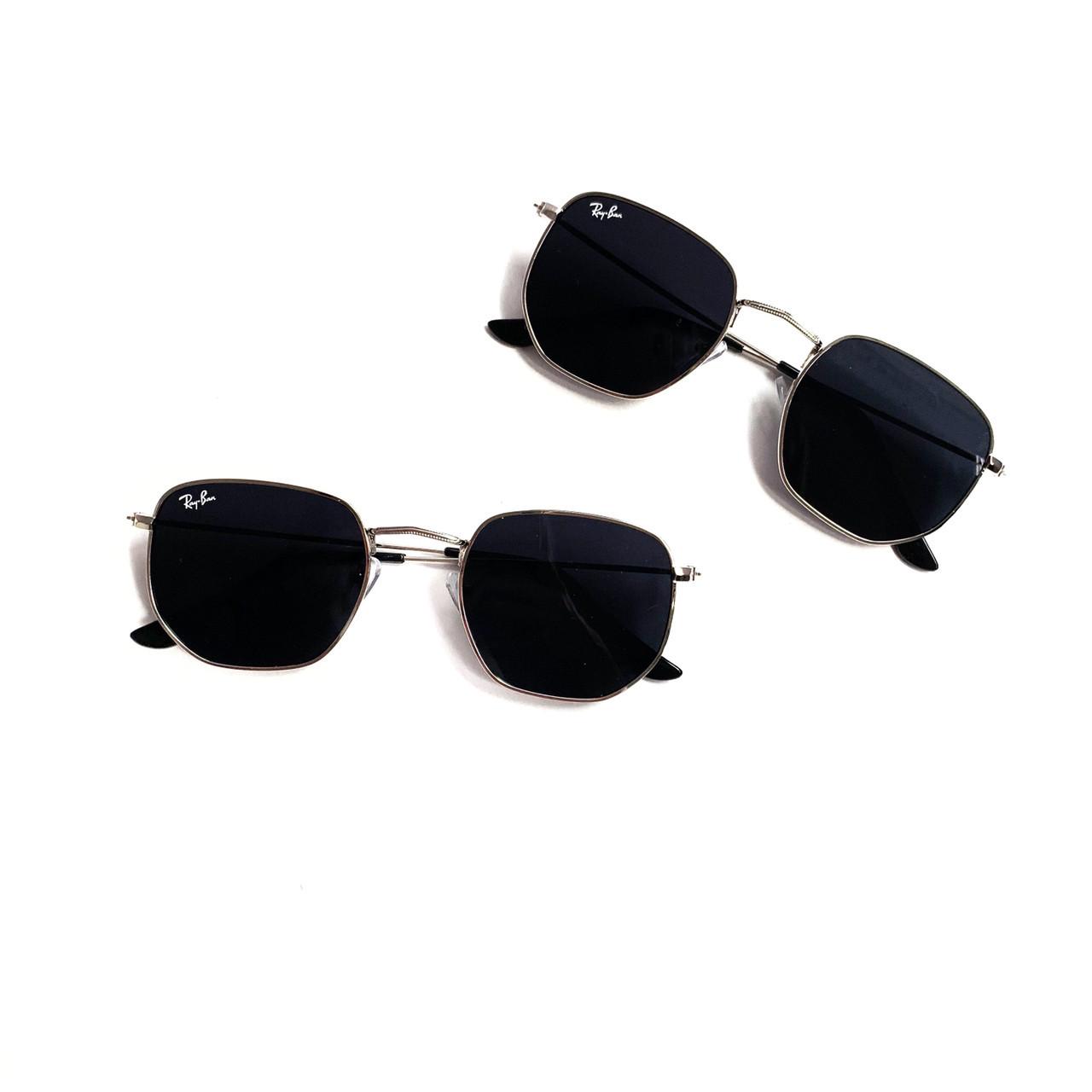 Многоугольные черные очки Ray Ban 24403tezOh