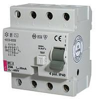 2062141 Реле дифференциальное (УЗО) EFI-4 16/003-AC ETI
