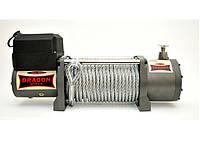Лебедка электрическая автомобильная DRAGON WINCH DWT 14000 HD 12/24V /6.3 т