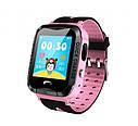 Детские умные часы с GPS Smart baby watch S7 ( V6G ) Розовые, фото 2