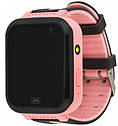 Детские умные часы с GPS Smart baby watch S7 ( V6G ) Розовые, фото 4