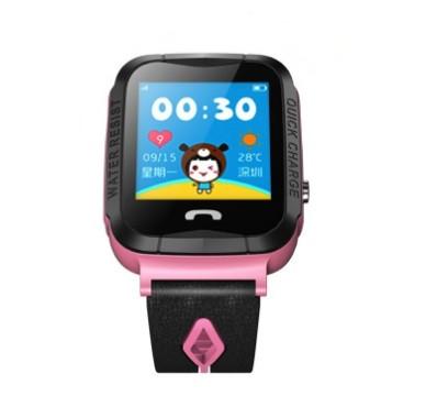Детские умные часы с GPS Smart baby watch S7 ( V6G ) Розовые