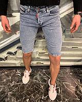 Джинсовые шорты мужские стильные