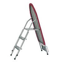 Гладильная доска-стремянка на 3 ступени, 106 х 35 см, производство Китай
