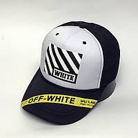Кепка тракерв стиле Off Strep Stripes белая