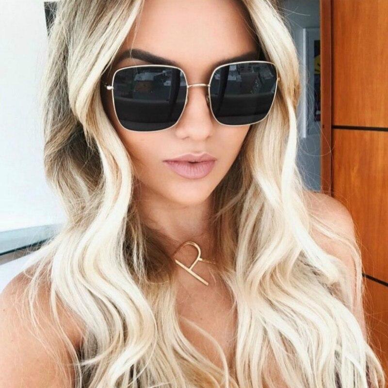 Стильные очки на лето с большими стеклами 22741tezOh