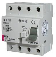 2062144 Реле дифференциальное (УЗО) EFI-4 63/003-AC ETI