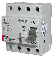 2062145 Реле дифференциальное (УЗО) EFI-4 80/003-AC ETI