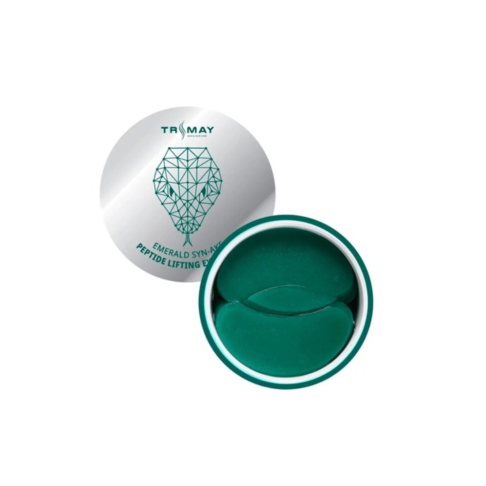 Гидрогелевые патчи с пептидом змеиного яда Trimay Emerald Syn-Ake Peptide Lifting Eye Patch