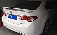 Спойлер багажника высокий со стоп сигналом Honda Accord 2008-2012 г.в. Хонда Акорд, фото 1