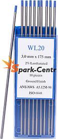Вольфрамовый электрод WL-20 (бирюзовый) 3,0 мм