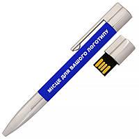 USB Ручка-флешка под печать логотипа 16ГБ синий цвет (1133-3-16GB)