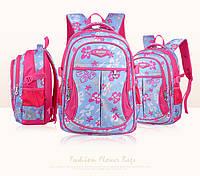 Детский школьный ортопедический рюкзак качественный 2 длины 4 цвета