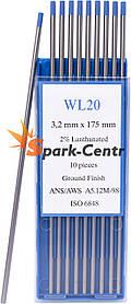 Вольфрамовый электрод WL-20 (бирюзовый) 3,2 мм