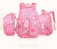Детский школьный ортопедический рюкзак качественный 2 длины 4 цвета, фото 1