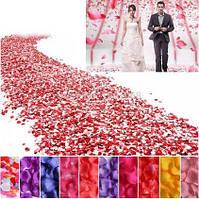 Лепестки роз (декор для платья )купить шелковые , разного цвета в наличии, 100 шт/уп