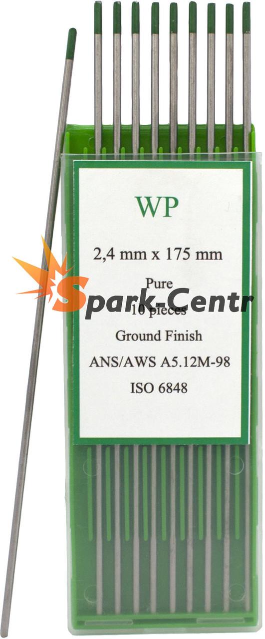 Вольфрамовый электрод WP (зеленый) 2,4 мм