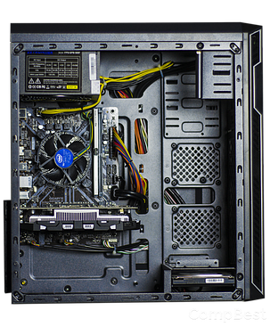 Frontier HAN SOLO silver / Intel Core i5-9400 (6 ядер по 2.9 - 4.1GHz) / 16GB DDR4 / 480GB SSD / GeForce GTX 1660 TI 6GB / 500W, фото 2
