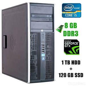 HP 8200 Tower / Intel® Core™ i5-2400 (4 ядра по 3.1 - 3.4GHz) / 8GB DDR3 / 1TB HDD+120GB SSD / GeForce GTX 1060 3GB, фото 2