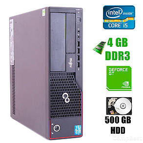 Fujitsu E700 Desktop / Intel® Core™ i5-2400 (4 ядра по 3.1 - 3.4GHz) / 4GB DDR3 / 500GB HDD / GeForce GT 1030 DDR5, фото 2