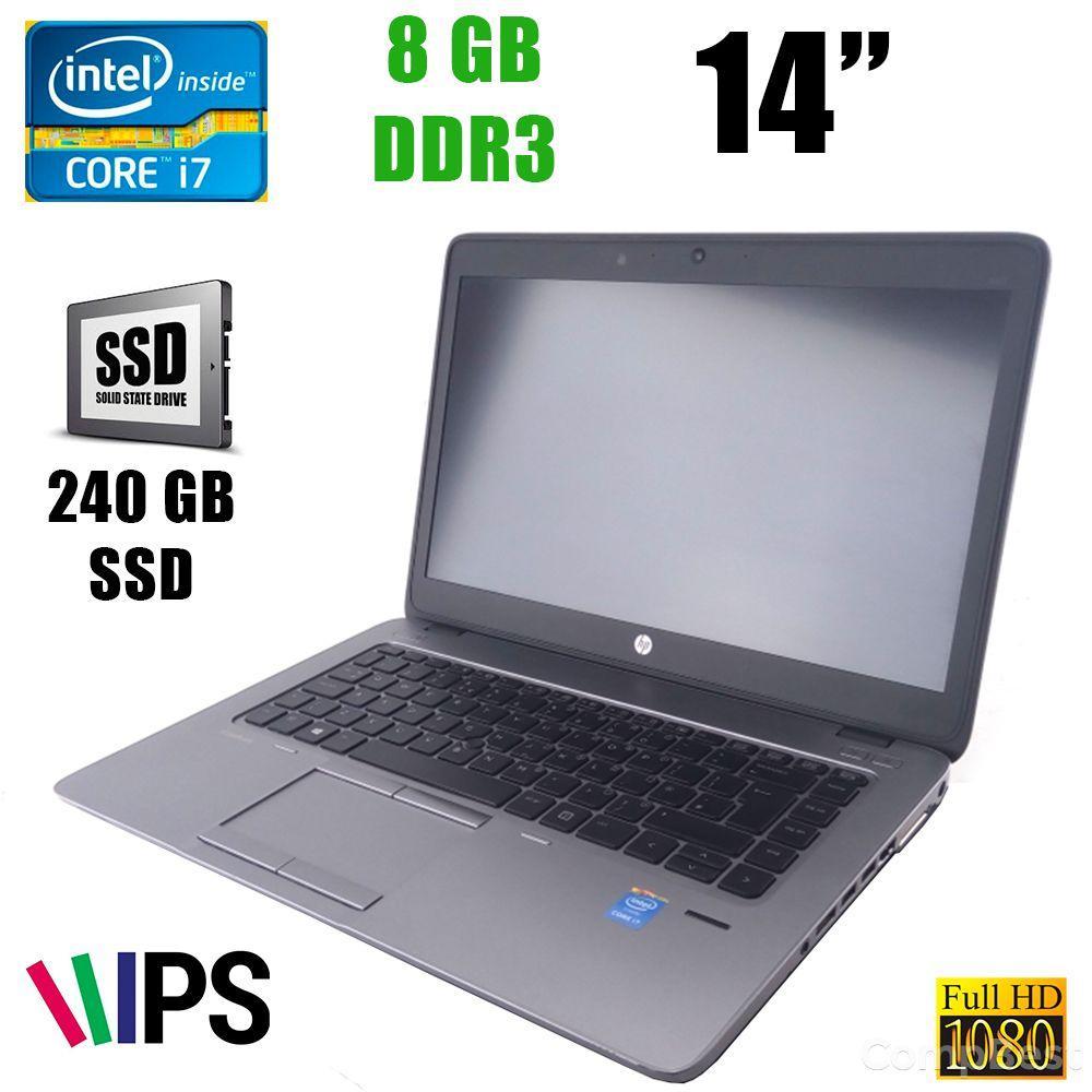 """HP EliteBook 840 G2 / 14"""" (1920x1080) IPS / Intel® Core™ i7-5500U (2(4)ядра по 2.4 - 3.0GHz) / 8GB DDR3 / 240GB SSD / VGA, DisplayPort"""