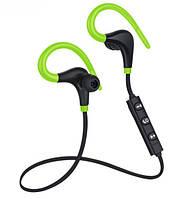 Bluetooth Гарнитура SPORT (green)