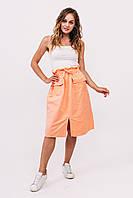 Комплект женской одежды юбка с майкой LUREX - персиковый цвет, L (есть размеры)