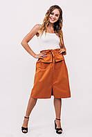 Комплект женской одежды юбка с майкой LUREX - терракотовый цвет, L (есть размеры)