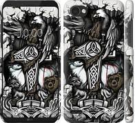 """Чехол на LG Q6 Тату Викинг """"4098c-1094-5948"""""""