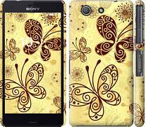 "Чехол на Sony Xperia Z3 Compact D5803 Красивые бабочки ""4170c-277-5948"""