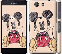 "Чехол на Sony Xperia Z3 Compact D5803 Нарисованный Мики Маус ""2731c-277-5948"""