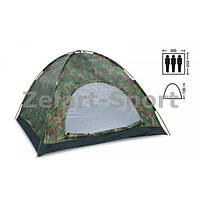 Палатка универсальная 3-х местная (камуфляж Woodland)