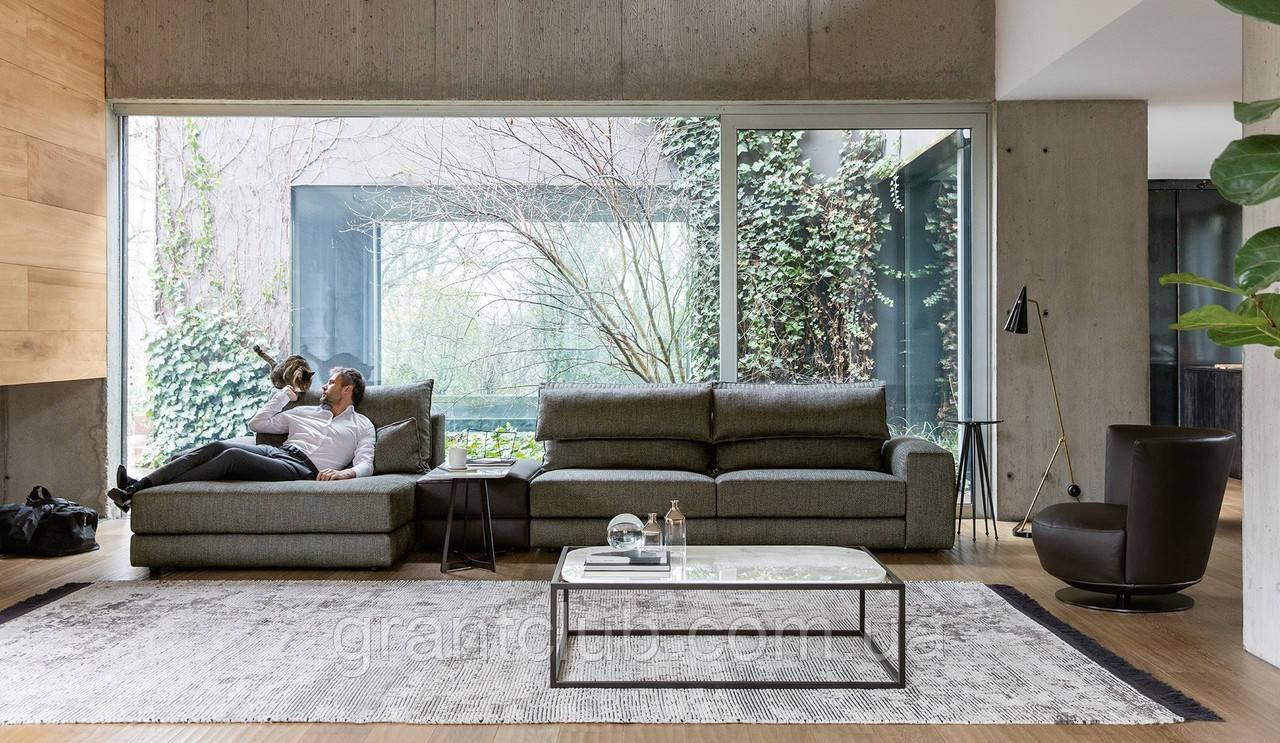 Модульний диван з регульованим підголівником GAME фабрика ALBERTA (Італія)