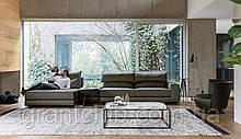 Модульный диван с регулируемым подголовником GAME фабрика ALBERTA (Италия)