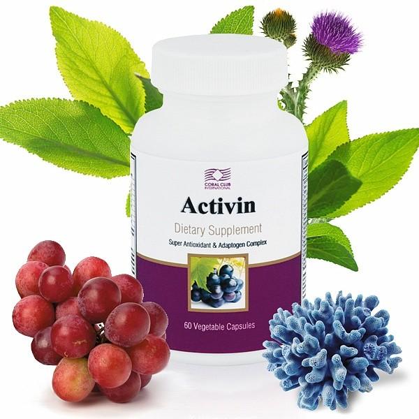 Активин Activin Антиоксиданты