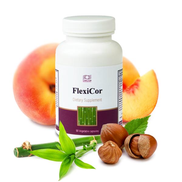 ФлексиКор FlexiCor Активный комплекс хондропротекторов  Тормозит дегенеративные процессы в хрящевой ткани