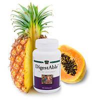 ДигестЭйбл  DigestAble -ферменты Пищеварительная система  Нормализует микрофлору кишечника