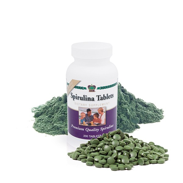 Спирулина в таблетках Spirulina Tablets