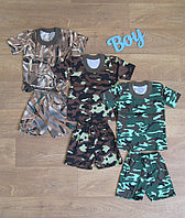 Летний костюм для мальчика,интернет магазин,детская одежда от производителя,кулир