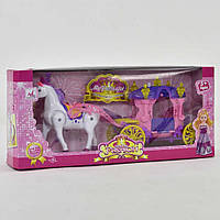 Карета 05011 (24) с куклой, в коробке