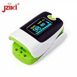 Пульсометр электронный на палец Jziki, JZK-303 Оксиметр, Oximeter