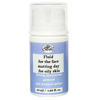 Флюид для лица матирующий дневной для жирной кожи 50 мл (вакуум)
