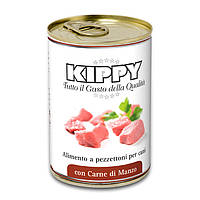 Консервы KIPPY Dog для собак с кусочками говядины 400г