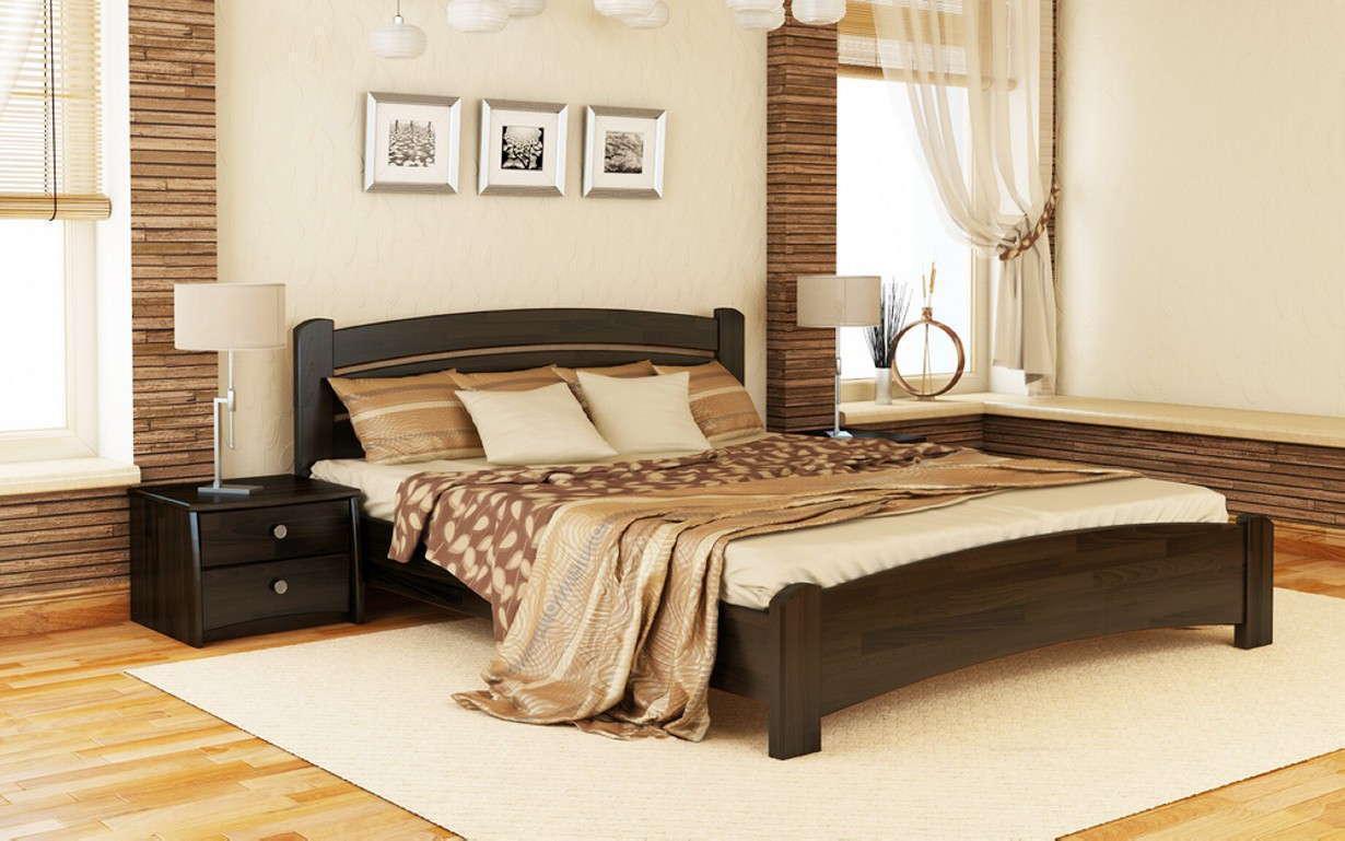 Деревянная кровать Венеция Люкс Массив 80х190 см. Эстелла