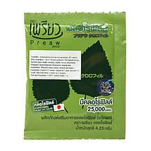 Чистый растворимый хлорофилл в порошке Preaw, 5 грамм