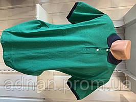 Футболка мужская COLORHAKAN поло комбинированная, размеры 3XL-6XL,002 \ купить футболку мужскую оптом