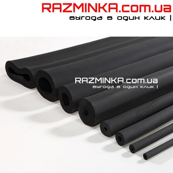 Каучуковая трубка Ø42/19 мм (теплоизоляция для труб из вспененного каучука)