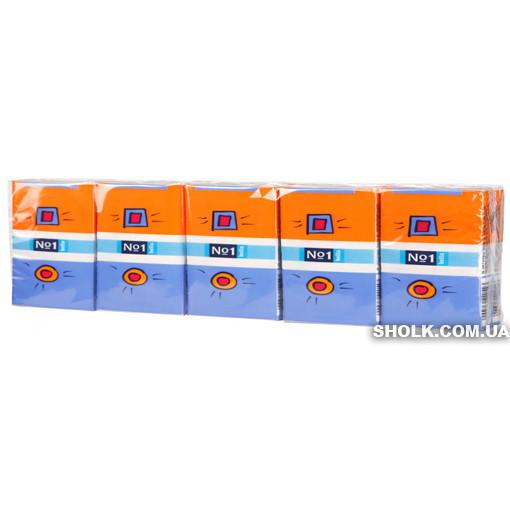 Носовые Платки Bella №1 Бумажные Трехслойные 10 Упаковок По 10 Шт